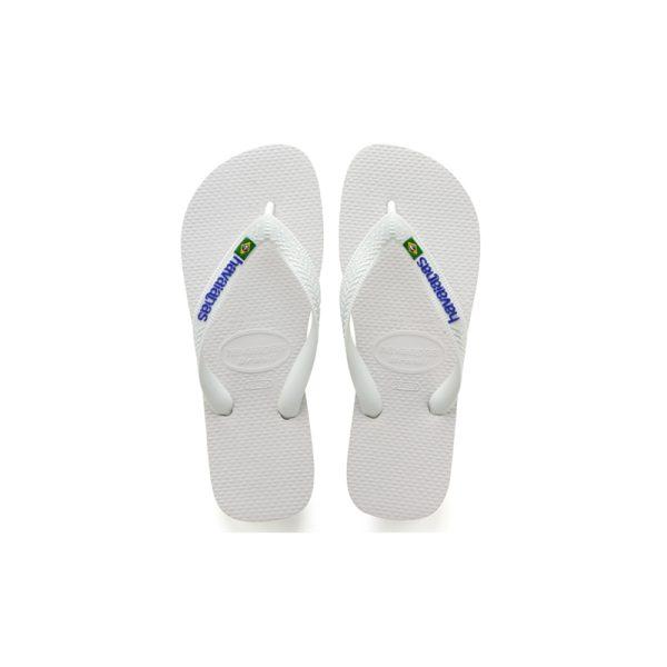 Σαγιονάρες Havaianas Brasil Logo White – 4110850-0001