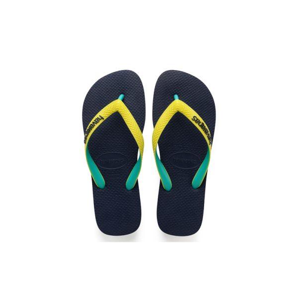 Σαγιονάρες Havaianas Top Mix Navy-Neon Yellow – 4115549-0821