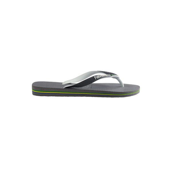Σαγιονάρες Havaianas Brasil Mix Steel Grey/White/White – 4123206-6820