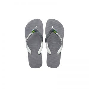 Havaianas Brasil Mix Steel Grey/White/White 4123206-6820