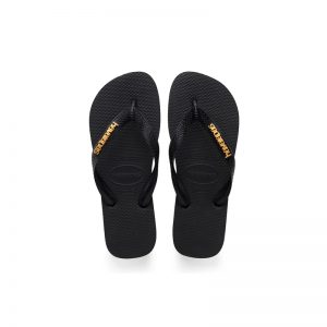Ηavaianas Logo Metallic Black/Black 4127244-1069