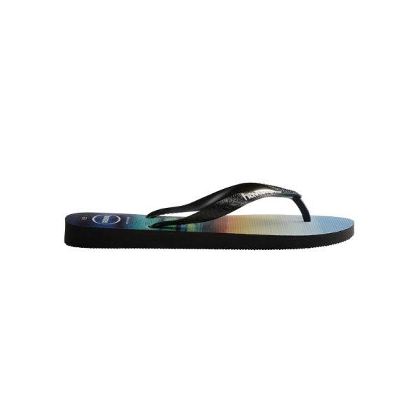 Σαγιονάρες Havaianas Hype Black/Black/White – 4127920-4058