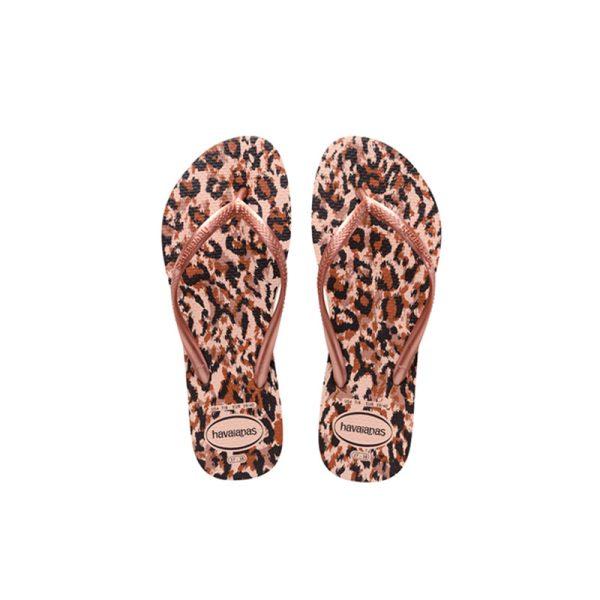 Σαγιονάρες Havaianas Slim Animals Ballet Rose - 4103352-0076