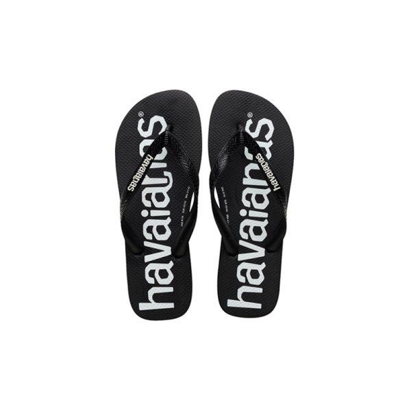 Σαγιονάρες Havaianas Top Logomania Black – 4144264-0090