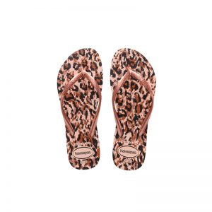 Σαγιονάρες Havaianas Slim Animals Ballet Rose - 4103352-0076