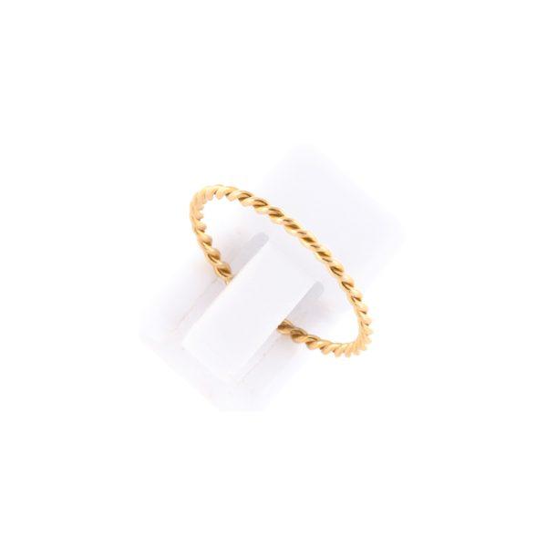 Δαχτυλίδι Ασημένιο Επιχρυσωμένο – RSMG1