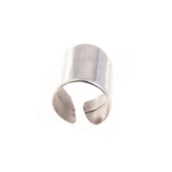 Δαχτυλίδι Από Επιπλατινωμένο Ασήμι Μέταλλο - RSSV3