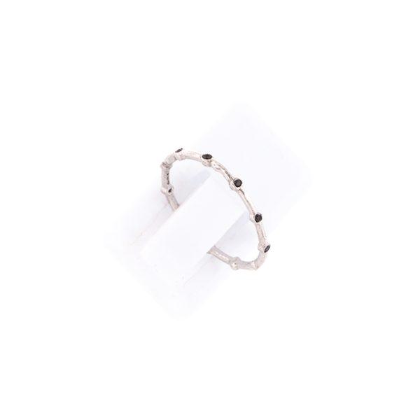 Δαχτυλίδι Ασημένιο Επιπλατινωμένο και Ζιργκόν – TRB68