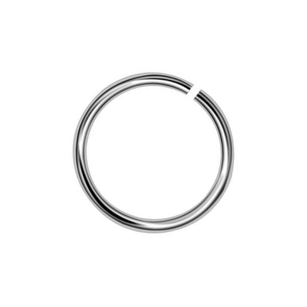 Σκουλαρίκι Μύτης από Τιτάνιο Κρίκος - TMT6