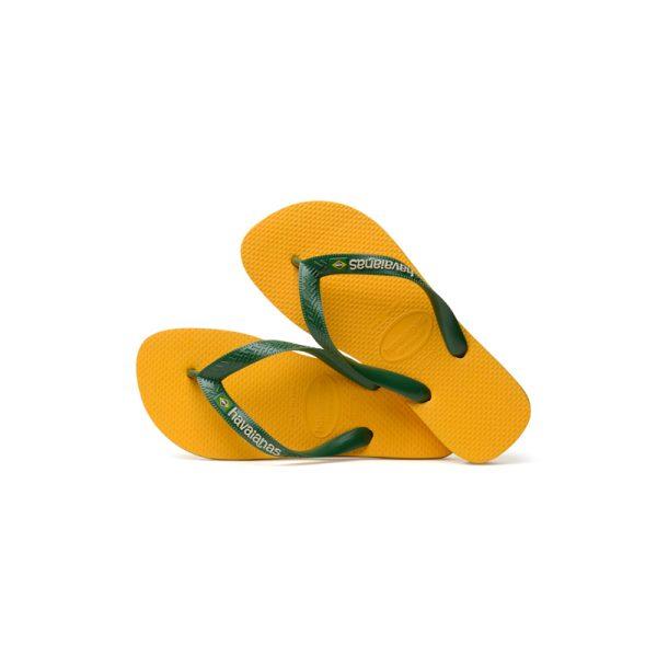 Σαγιονάρες Havaianas Brasil Logo Banana Yellow – 4110850-1652