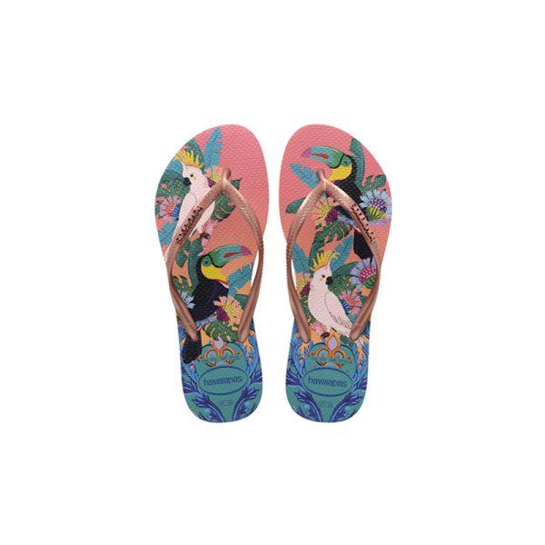Σαγιονάρες Havaianas Slim Tropical - 4122111-0082