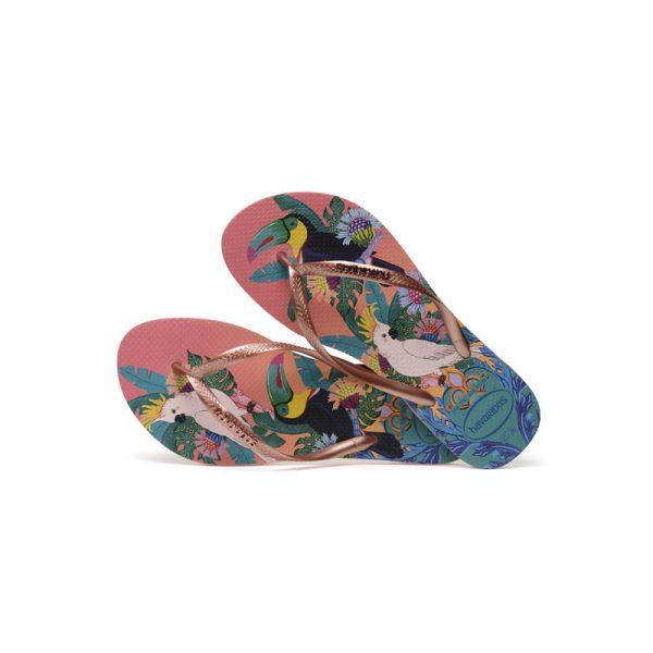 Σαγιονάρες Havaianas Slim Tropical – 4122111-0082