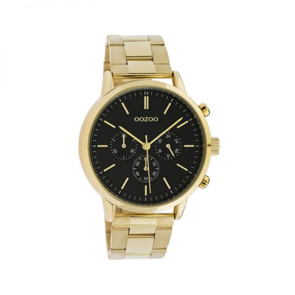 Ρολόι Oozoo Timepieces Gold Metallic Bracelet – C10548