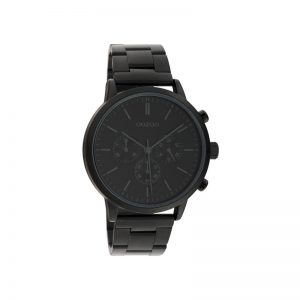 Ρολόι Oozoo Timepieces Black Metallic Bracelet – C10549