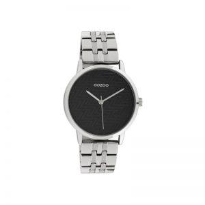 Ρολόι Oozoo Timepieces Silver Metallic Bracelet - C10556