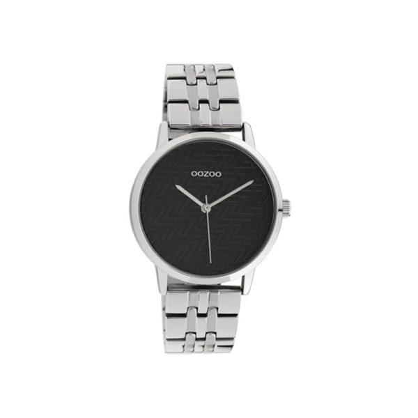 Ρολόι Oozoo Timepieces Silver Metallic Bracelet – C10556