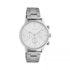 Ρολόι Oozoo Timepieces Silver Metallic Bracelet - C10560