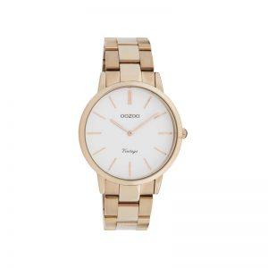 Ρολόι Oozoo Vintage Rose Gold Stainless Steel Bracelet - C20036