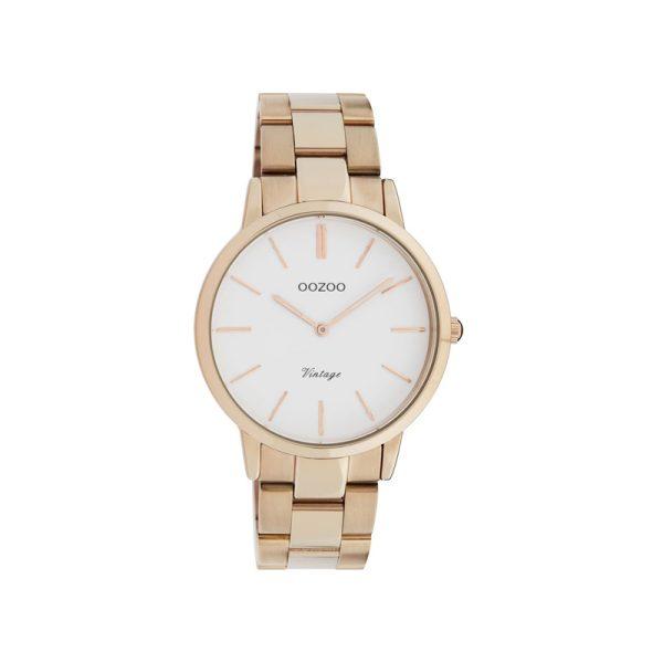 Ρολόι Oozoo Vintage Rose Gold Stainless Steel Bracelet – C20036