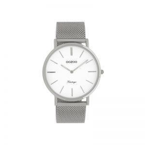 Ρολόι Oozoo Vintage Silver Metallic Bracelet - C9901