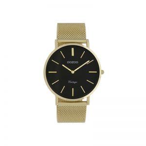 Ρολόι Oozoo Vintage Gold Metallic Bracelet- C9913