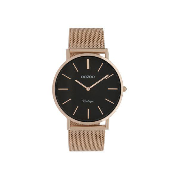 Ρολόι Oozoo Vintage Rose Gold Metallic Bracelet – C9925