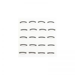 Σκουλαρίκι Μύτης Ασημένιος Μαύρος Κρίκος 8mm