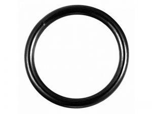 Σκουλαρίκι Σώματος Μαύρος Κρίκος Από Τιτάνιο Κλίκερ 10mm