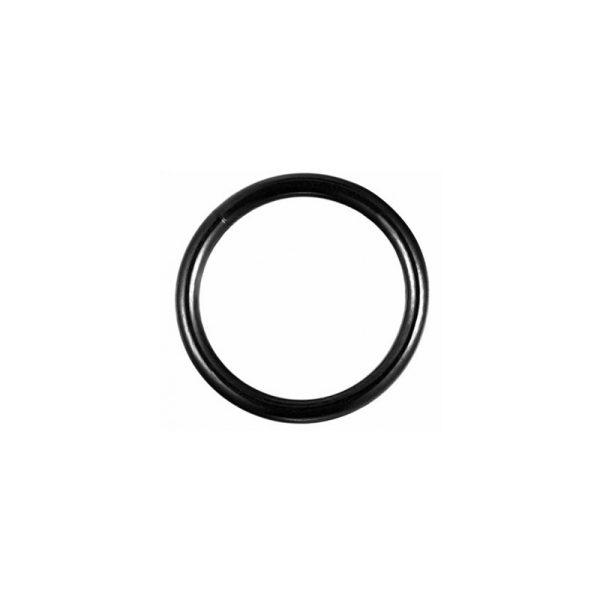 Σκουλαρίκι Σώματος Από Τιτάνιο Μαύρος Κρίκος Κλίκερ 10mm