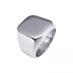 Δαχτυλίδι Gregio από Ατσάλι - SR551