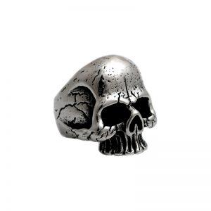 Δαχτυλίδι από Ατσάλι με Σχέδιο - SR560