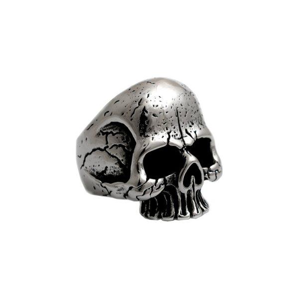 Δαχτυλίδι Gregio από Ατσάλι με Σχέδιο – SR560