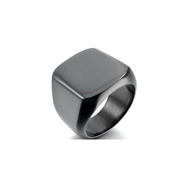 Δαχτυλίδι από Ατσάλι με Επιχρύσωμα - SR570