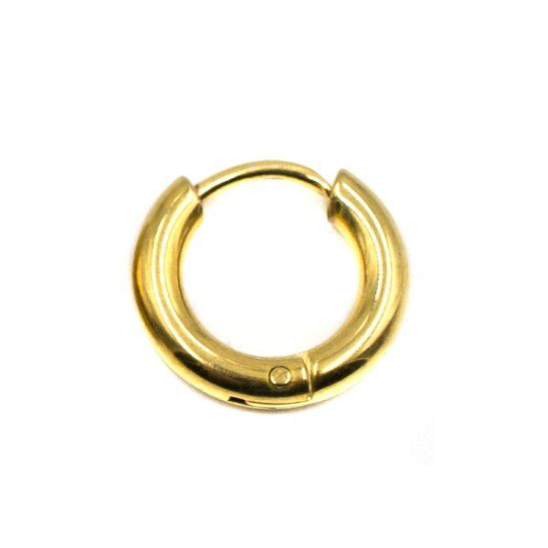 Σκουλαρίκι Αυτιού από Ατσάλι Επιχρυσωμένο - EST88