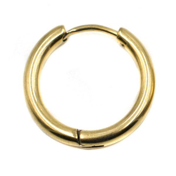 Σκουλαρίκι Αυτιού από Ατσάλι Επιχρυσωμένο – EST88