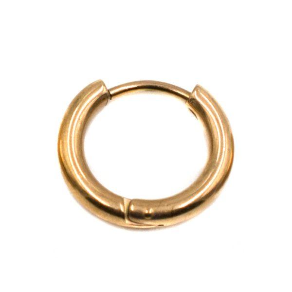 Σκουλαρίκι Αυτιού από Ατσάλι με Επιχρύσωμα – LEE2
