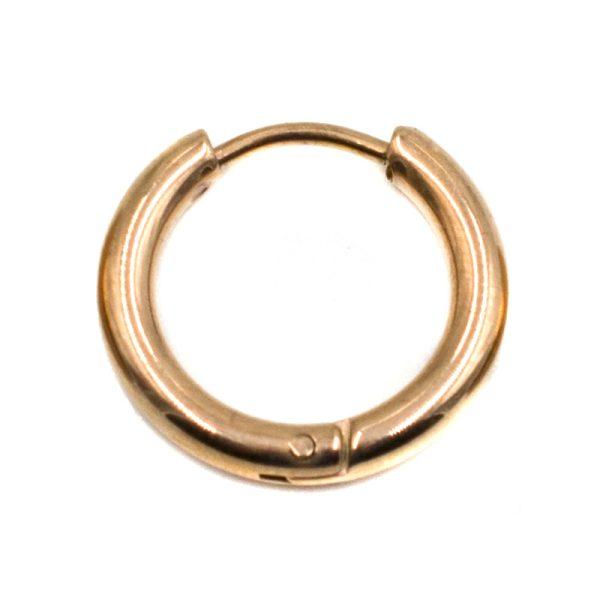 Σκουλαρίκι Αυτιού από Ατσάλι με Επιχρύσωμα - LEE2