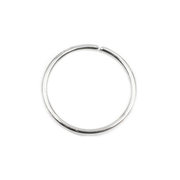 Σκουλαρίκι Μύτης από Ατσάλι Κρίκος – MT341