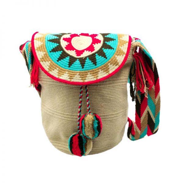 Τσάντα Wayuu Mochila - WB6