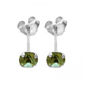 Σκουλαρίκια Αυτιού Ασημένια με Σουλτανίτη - SEZ5