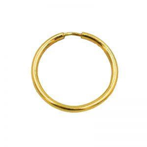 Σκουλαρίκι Αυτιού/Μύτης Χρυσό K14 Κρίκος – GEN2