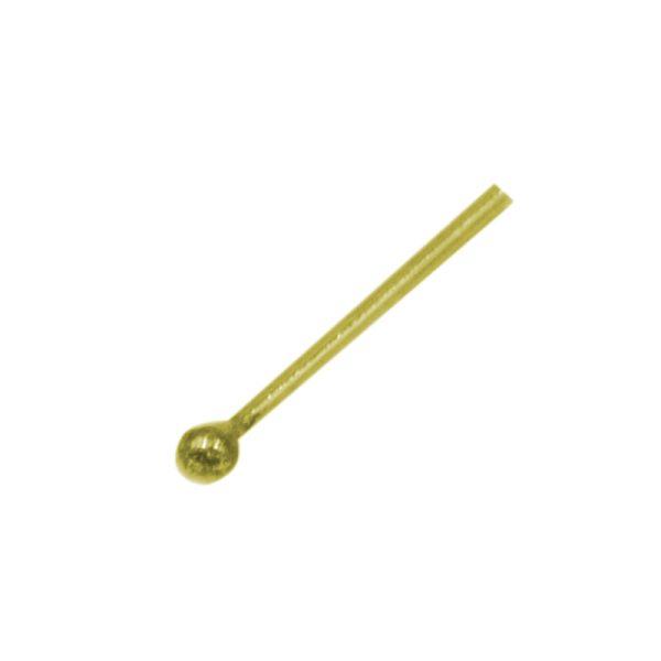 Σκουλαρίκι Μύτης Ασημένιο Επιχρυσωμένο – L34731W