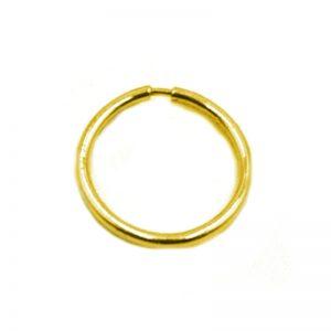 Σκουλαρίκι Μύτης Χρυσό K14 Κρίκος – 11327