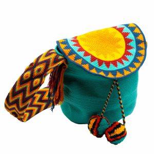 Τσάντα Wayuu Mochila – WB26