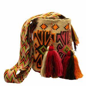 Τσάντα Wayuu Mochila – WB19
