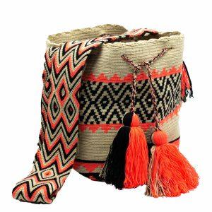 Τσάντα Wayuu Mochila - WB26