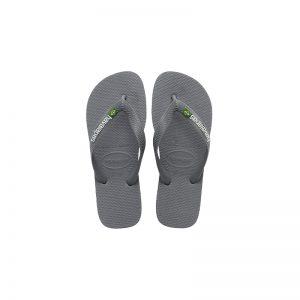 Σαγιονάρες Havaianas Brasil Logo Steel Grey – 4110850-5002