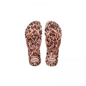 Σαγιονάρες Havaianas Slim Animals Ballet Rose – 4103352-0076