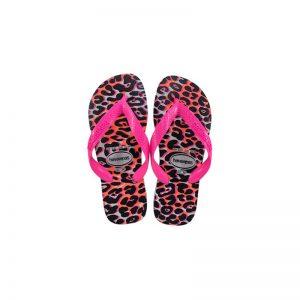 Σαγιονάρες Havaianas Top Animals White/Pink – 4132920-7808