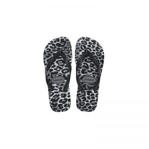 Σαγιονάρες Havaianas Top Animals Steel Grey/Black – 4132920-6808